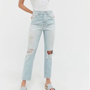 Urban Outfitters   BDG   High Rise Slim Straight